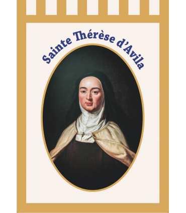 Bannière Sainte Thérèse d'Avila