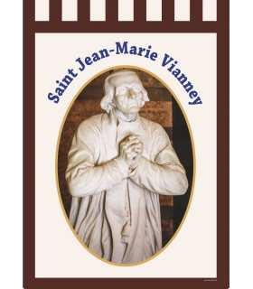 Bannière Saint Jean-Marie Vianney (BA16-0014)
