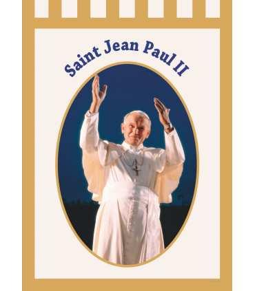Bannière Saint Jean-Paul II