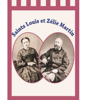 Holy banner Louis and Zélie Martin