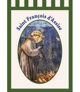 Bannière Saint François d'Assise (BA16-0018)