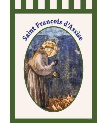 Bannière Saint François d'Assise