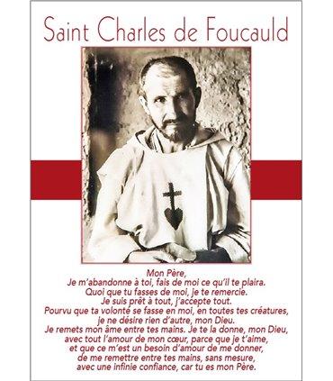 Poster / Displays Saint Charles of Foucault