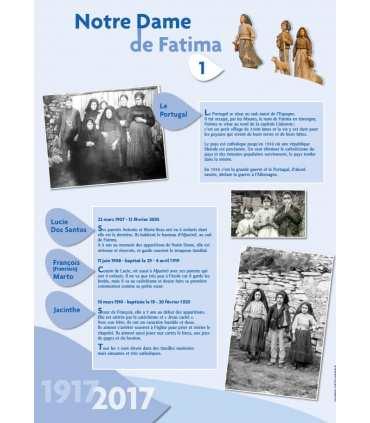 Notre Dame de Fatima - Centenaire (Série de 8 affiches)