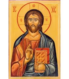 Grand Format Icône du Christ