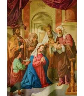 """Grand Format """"Présentation de Jésus au Temple"""""""