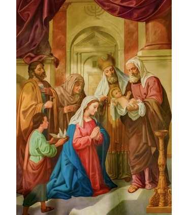 """Grand Format """"Présentation de Jésus au Temple"""" (GF15-0052)"""