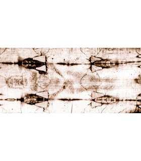 Grand Format «Linceul de Turin entier»  (face avant négatif)