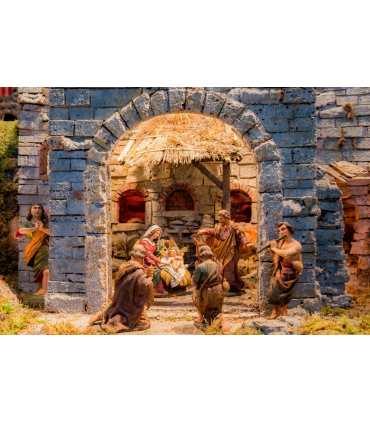 "Large Format ""Christmas Nativity Scene"""