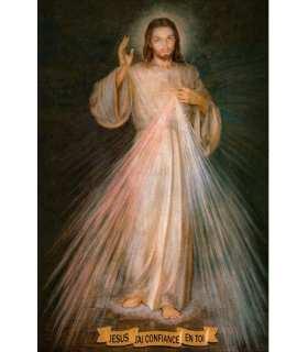 """Grand Format """"Jésus Miséricordieux"""""""
