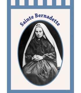 Bannière Sainte Bernadette (BA16-0022)
