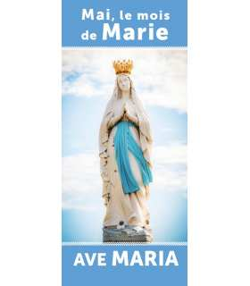 Kakémono liturgique : Marie