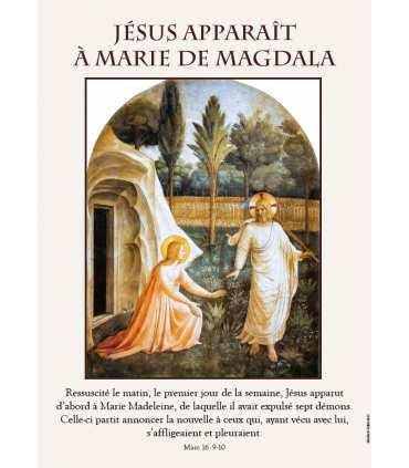 Chemin de Lumière, apparitions de Jésus - Vialucis (Série de 6 affiches) (EX15-0017)