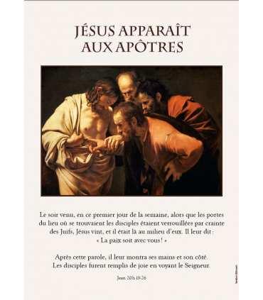 Chemin de Lumière, apparitions de Jésus - Vialucis (Série de 6 affiches)