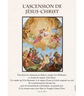 Poster L'Ascension de Jésus-Christ