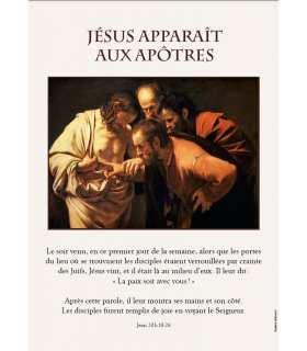 Poster Jésus apparait aux Apôtres (PO15-0052)