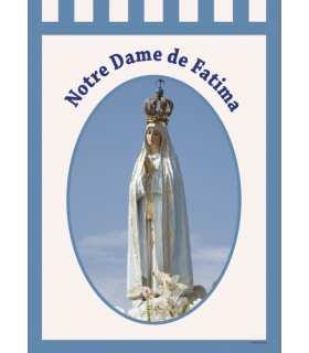 Bannière Notre Dame de Fatima (BA16-0023)
