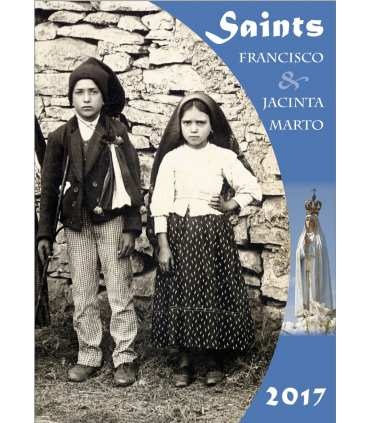 Poster Saints enfants de Fatima (version couleurs) (PO15-0055)