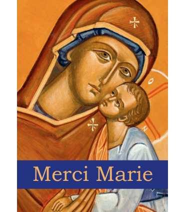 Poster Icône Merci Marie (PO15-0021)
