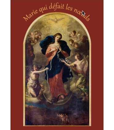 Poster Marie qui défait les noeuds - avec texte (PO15-0056)