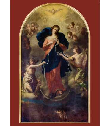 Poster Marie qui défait les noeuds - sans texte (PO15-0057)