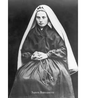 Poster Sainte Bernadette (PO15-0061)
