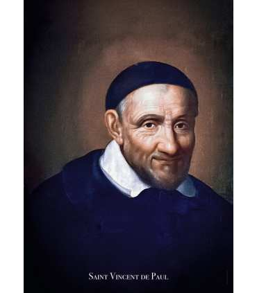 Poster Saint Vincent de Paul (PO15-0060)