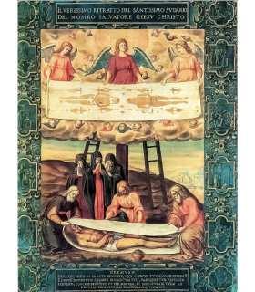 """Grand Format """"Descente de la croix - Mise au tombeau - Saint Suaire"""" (GF15-0067)"""