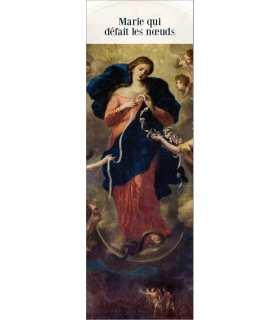 """Signet """"Marie qui défait les noeuds"""" avec image officielle (SAT0070)"""