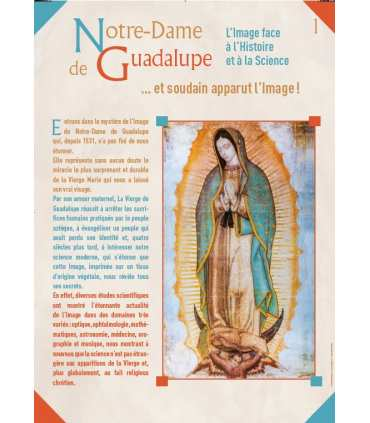 Notre Dame de Guadalupe (Série de 8 affiches) (EX15-0018)