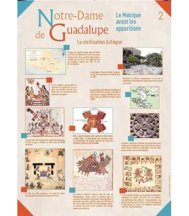 Notre Dame de Guadalupe (Série de 8 affiches)
