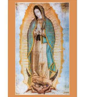 """Poster """"Our Mother of Guadalupe"""" (PO15-0064)"""