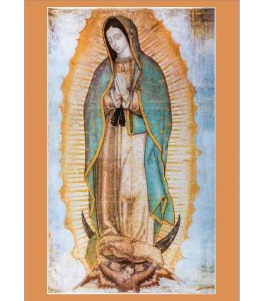 """Poster """"Notre Dame de Guadalupe"""" (PO15-0064)"""