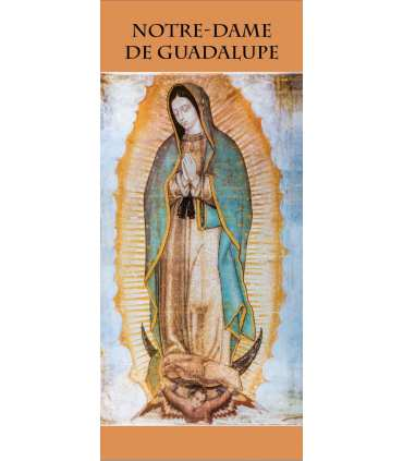 Kakémono Notre Dame de Guadalupe (KM15-0055)