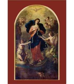 """Carte Prière """"Marie qui défait les noeuds"""" (CA15-0015)"""