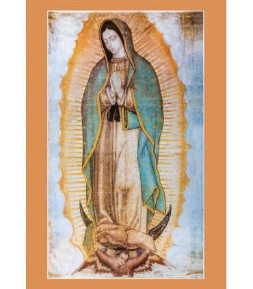 """Carte Prière """"Notre Dame de Guadalupe"""" (CA15-0016)"""