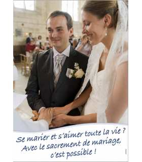 Poster Mariage (version 1) (PO15-0065)