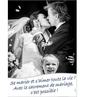 Poster Mariage (version 3) (PO15-0067)