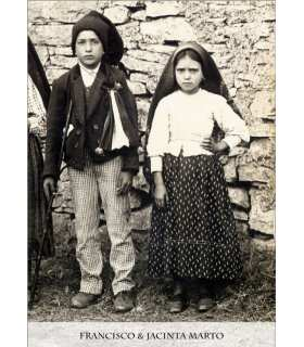 Poster Saints enfants de Fatima (version noir et blanc) (PO15-0069)