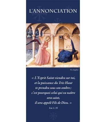 Kakémono Annonciation (Fra Angelico) (KM15-0057)