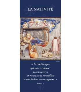 Kakémono Nativité (Giotto) (KM15-0059)