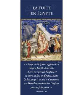 Kakémono Fuite en Egypte (Giotto) (KM15-0061)