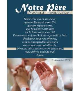 Poster Notre Père (nouvelle traduction) (PO15-0070)