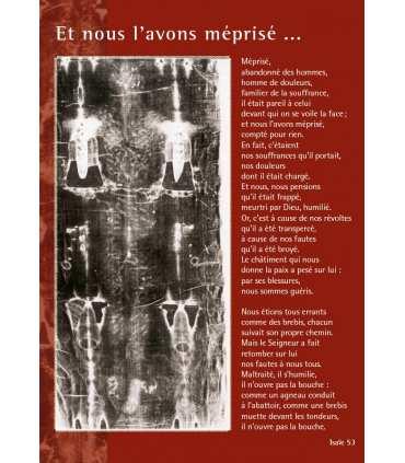Le Saint Suaire Méditation (Série de 6 affiches) sur le Linceul de Turin (EX13-0031)
