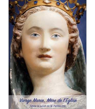 Poster Vierge Marie Mère de l'Eglise (version2) (PO15-0076)