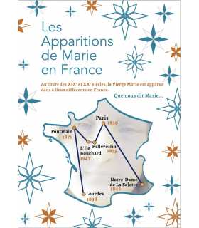 Les Apparitions de Marie en France (Série de 13 affiches) (EX15-0019)