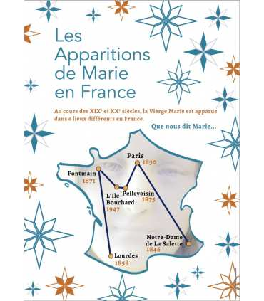 Marian apparitions in France (13 posters) (EX15-0019)