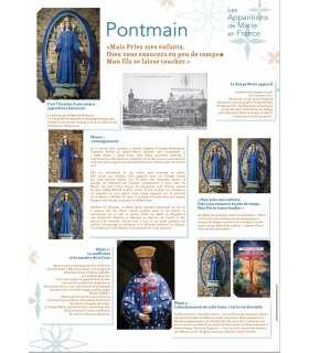 Les Apparitions de Marie en France (Série de 13 affiches) (EX15-0019)