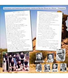 Testament de Christian Chergé - moine de Tibhirine (PO15-0081_R1.00)