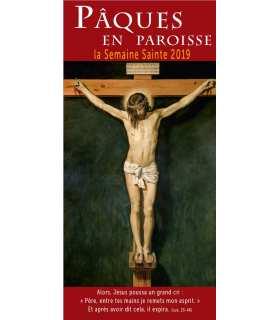 """Lot de Flyers personnalisables """" Pâques / Semaine Sainte """" (FP15-0030)"""